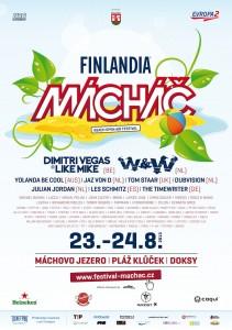 Největší taneční akce léta Mácháč 2013 se blíží