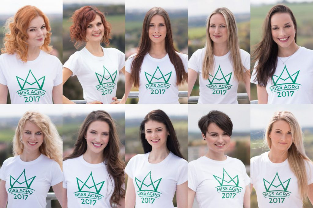 Finalistiky Miss Agro 2017